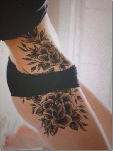 Sexy roses de la hanche tatouage. sexy_roses_de_la_hanche_tatouage