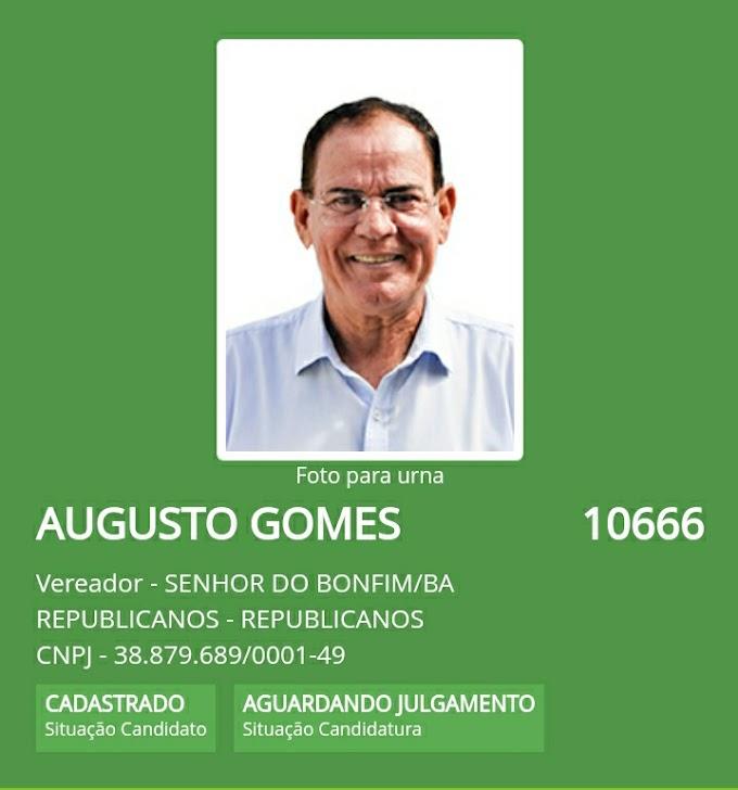 Candidato a Vereador em Bonfim Augusto Gomes ex-locutor da Rádio Rainha FM, Rádio Caraíba e Princesa FM, está atrás de voto a todo Vapor em Itiúba-BA!