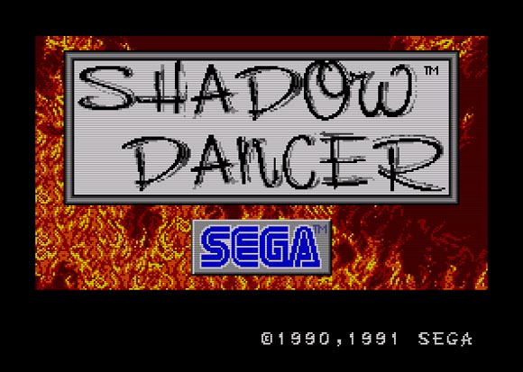 Shadow Dancer do Master System