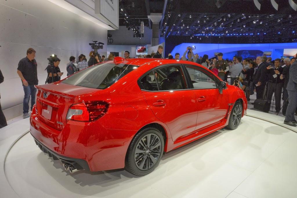 2015 Subaru WRX Los Angeles Auto Show 8