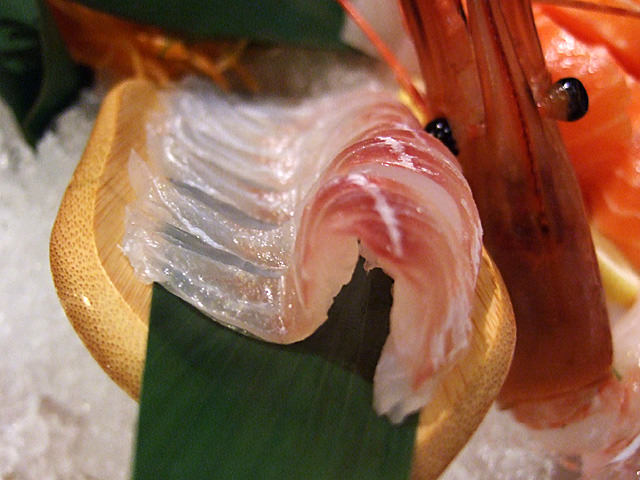 Snapper sashimi