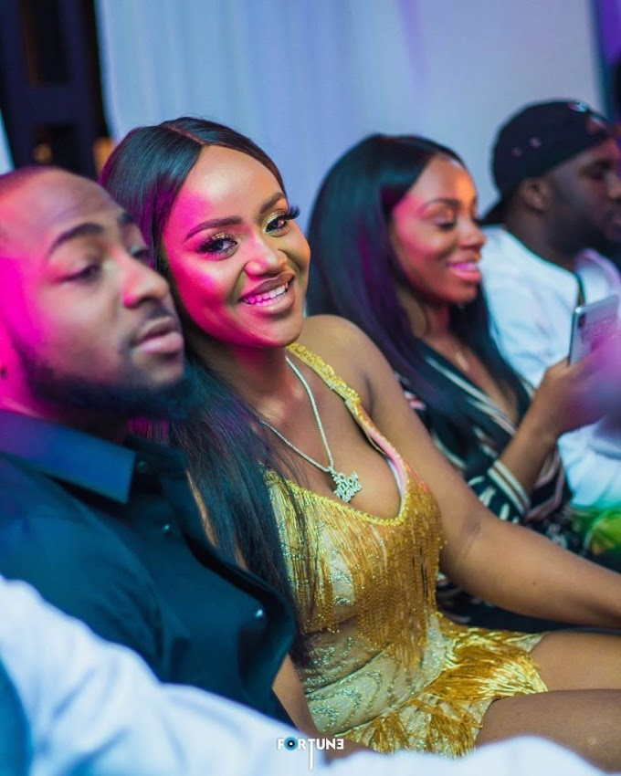 """My Wife is Here"" – Davido spotted with Chioma in Bahamas after two months apart"