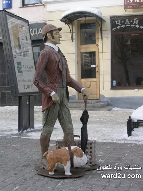 منحوتات دمى وحيوانات للفنان Yargin Sergei