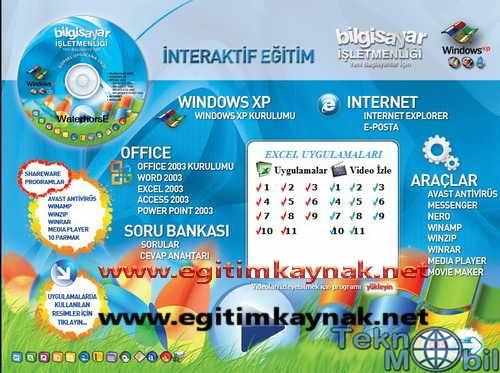 Bilgisayar İşletmenliği Eğitim Seti Türkçe