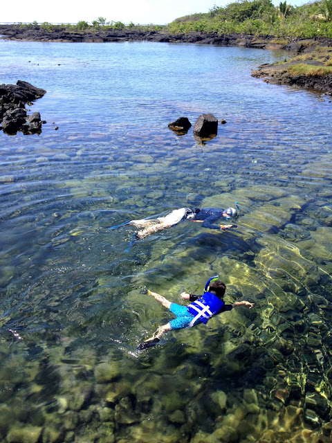 Snorkeling at Kapoho Tide pools