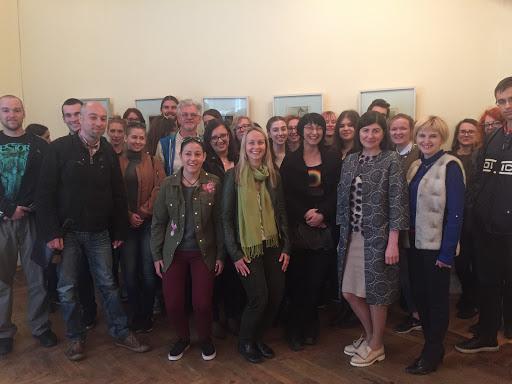 Зустріч з викладачами і студентами Загребського університету