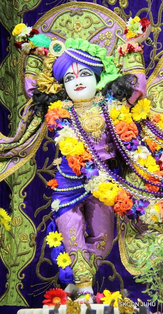 ISKCON Juhu Sringar Deity Darshan 11 Jan 2016  (19)