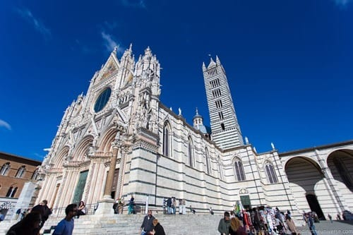Exterior Siena Cathedral