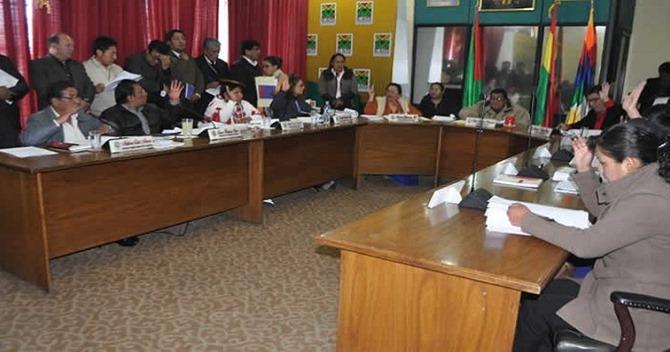 Concejo Municipal de El Alto aprobó el incremento salarial del 6% para esta gestión