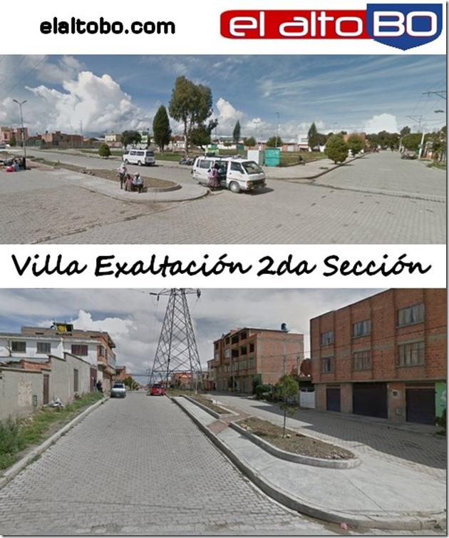 Villa Exaltación Segunda Sección: zona de la ciudad de El Alto (Bolivia)