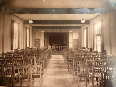 Inside the former Village Hall, Church Street, Little Shelford 1932