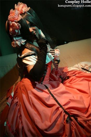 kuroshitsuji / black butler cosplay - ciel robin phantomhive by akabara yashiki