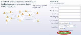 Cara Mendaftar Facebook
