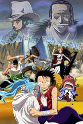 One Piece Pelicula 8: The Desert Princess and The Pirates Adventure in Alabasta