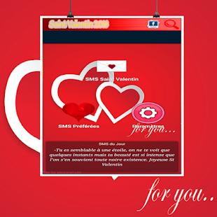 Valentines Love Day 2018 SMS - náhled