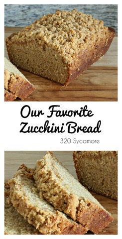 Zucchini Bread 320 Sycamore