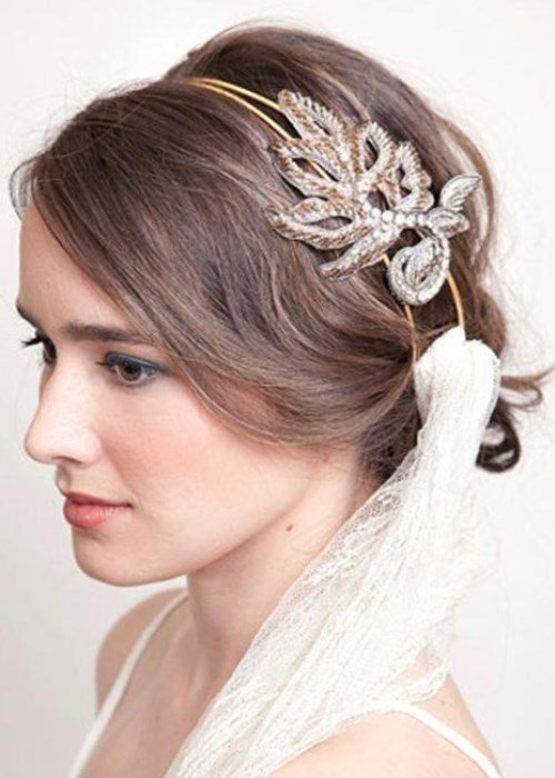 Pretty and romantic hairstyles for wedding day - Fashion 2D