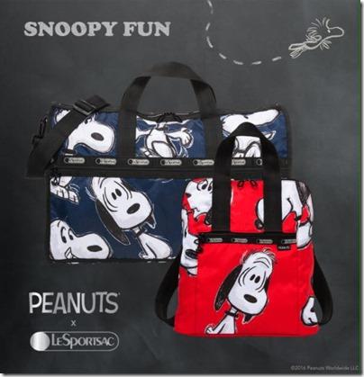 Peanuts X LeSPORTSAC 04
