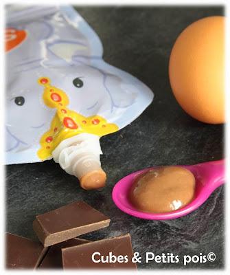 Crème dessert au chocolat pour bébé