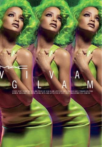 Rihanna's Viva Glam 2 Lipstick