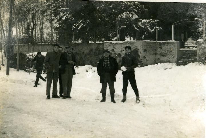 il vecchio ingresso della Pinetina - anni '60