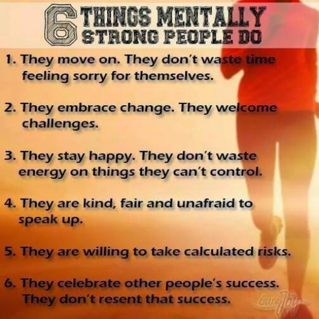 6 Thing Mentally Strong Do