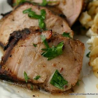 Greek-Style Pork Tenderloin.