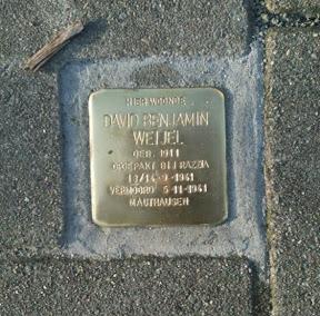 David Benjamin Weijel. Emmastraat 8a.