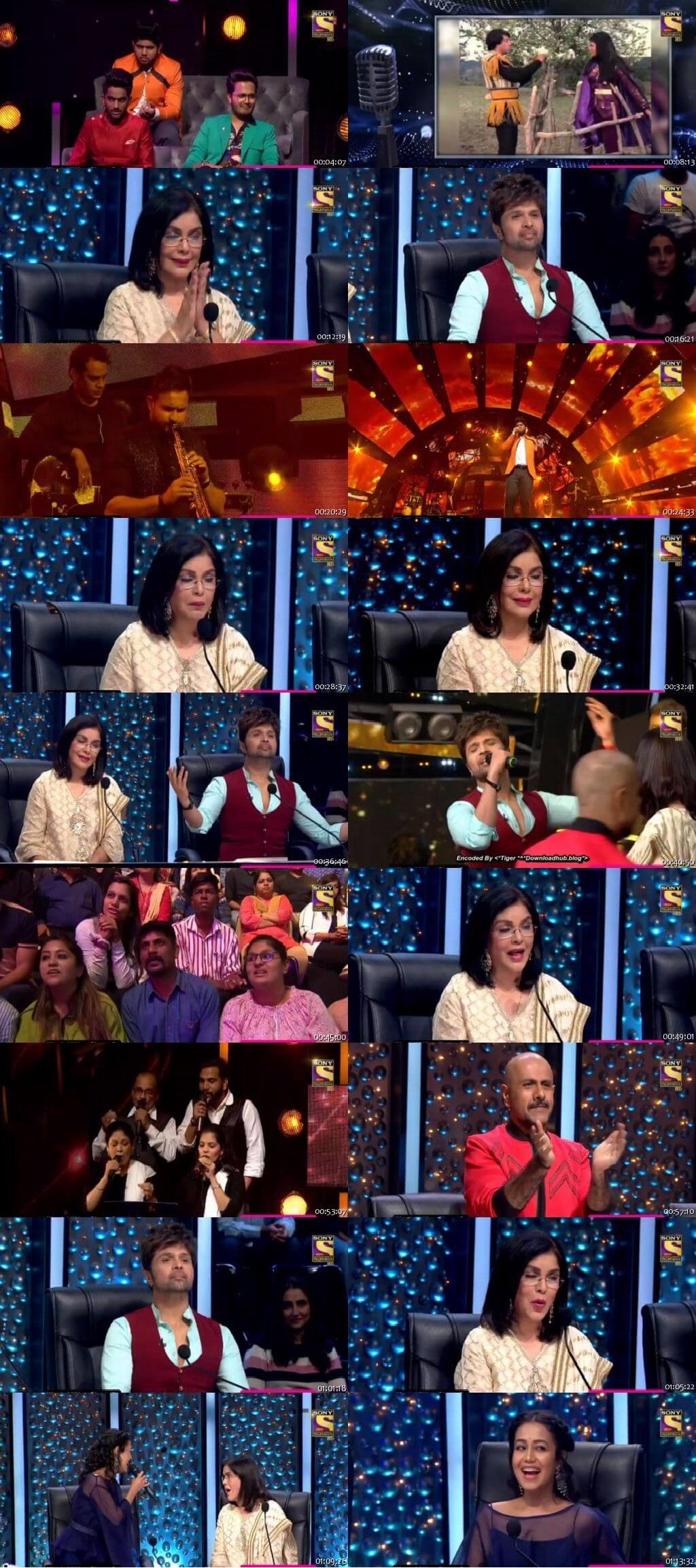 Screenshots Of Hindi Show Indian Idol 8th February 2020 Episode 35 300MB 480P HD