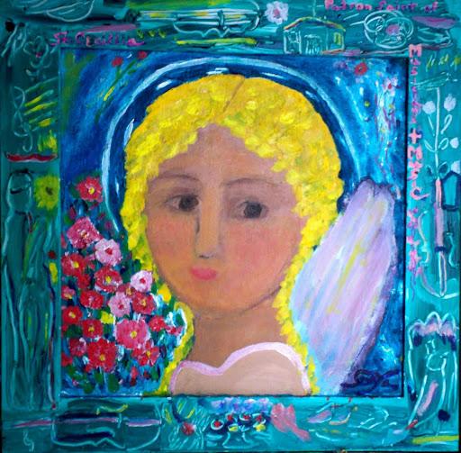 St Cecillia, by Sonya Gonzalez