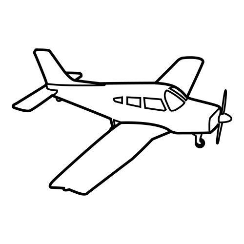 Dibujos Transporte Aereo Para Colorear