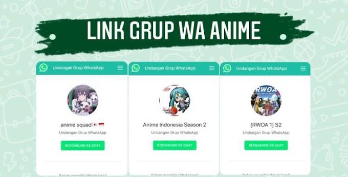 100+ Link Grup Whatsapp Anime, Wibu & Otaku 2021