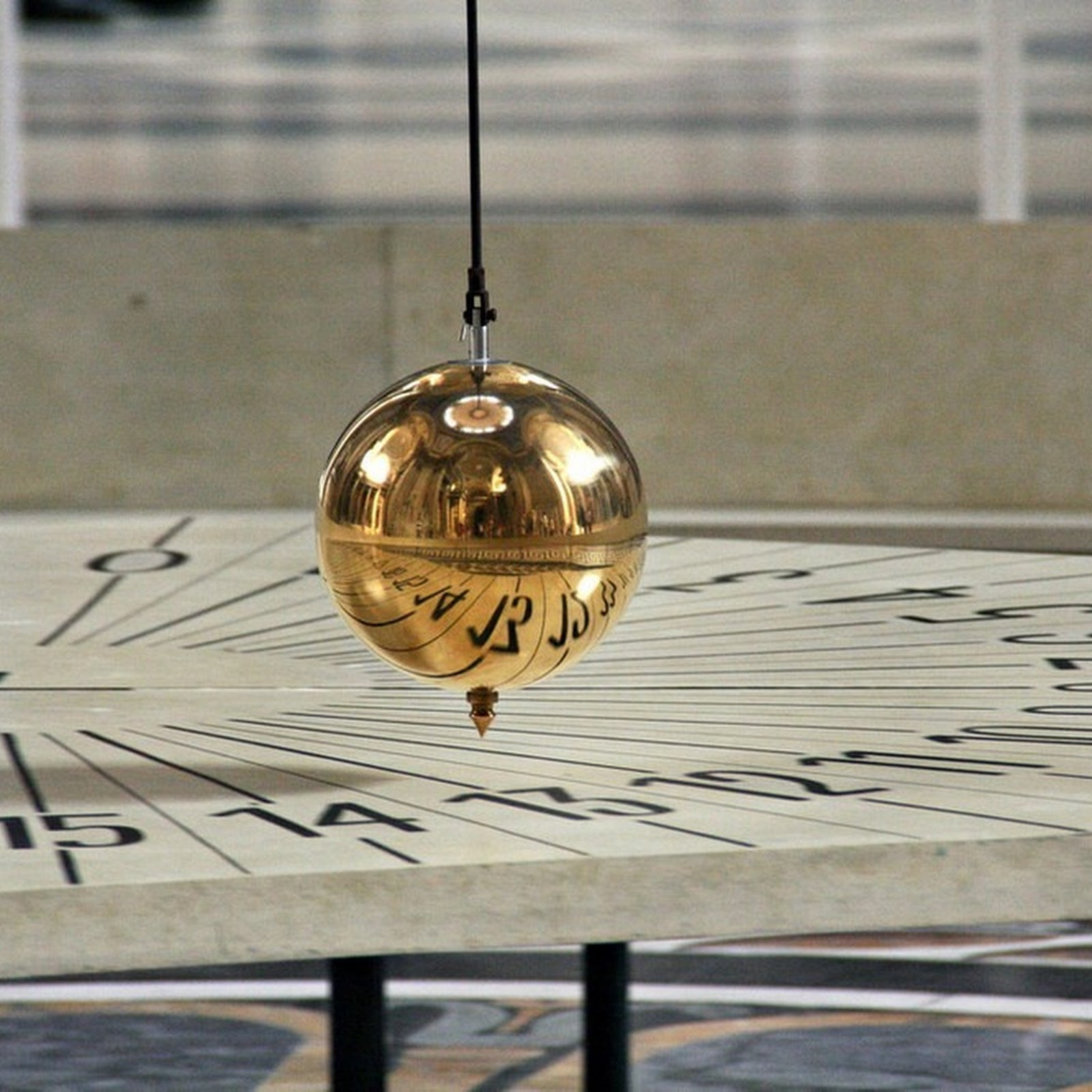 Foucault Pendulum And The Pantheon