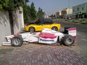 Abandoned Toyota Racer