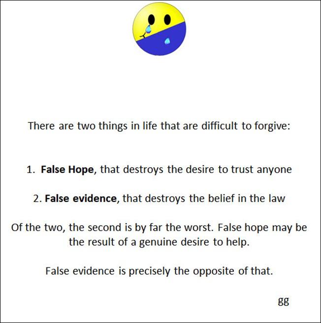 false destroys