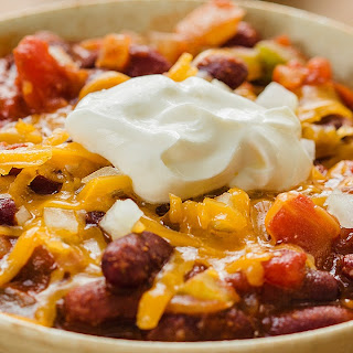 Quick Red Kidney Bean Chili.
