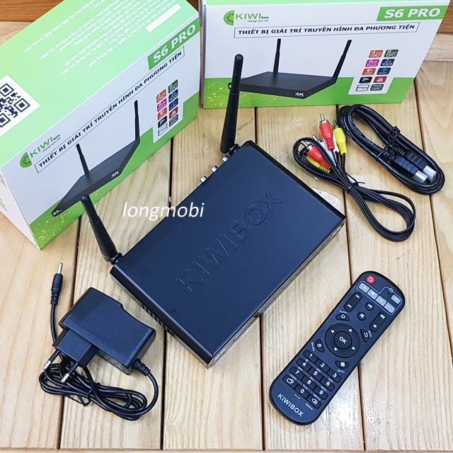 android tv box kiwi s6pro
