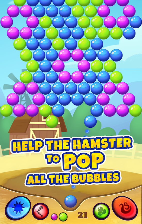 Bubble Hamster- screenshot