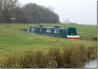 2 moored in a field