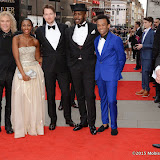 OIC - ENTSIMAGES.COM - The gang from Memphis The Musical David Bryan, Beverley Knight, Killian Donnelly, Rolan Bell and Jason Pennycook at the The Olivier Awards in London 12th April 2015  Photo Mobis Photos/OIC 0203 174 1069