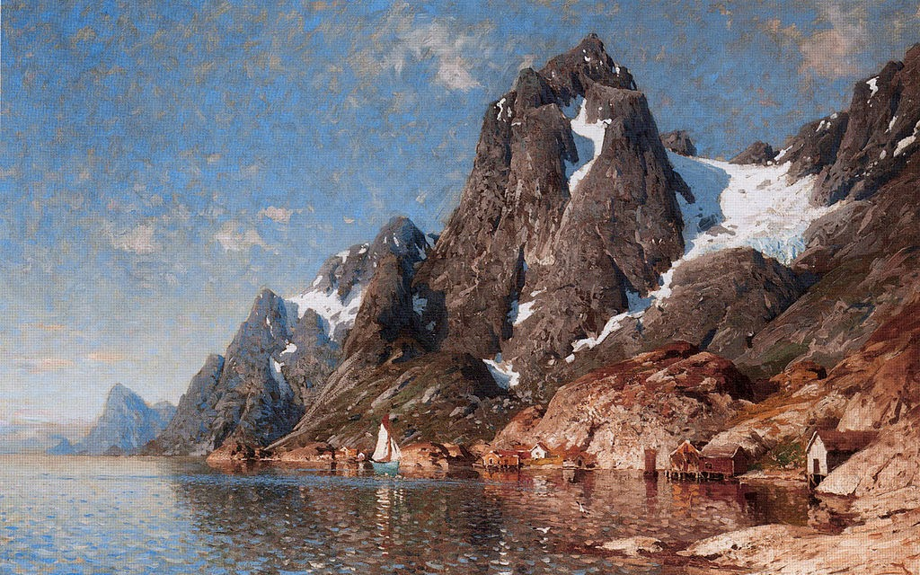 Adelsteen Normann - Sailing on the Fjord