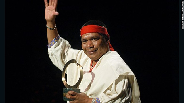 Environmental and indigenous rights activist Isidro Baldenegro López was the leader of Mexico's indigenous Tarahumara people. He was assassinated on 15 January 2017. Photo: Goldman Environmental Prize