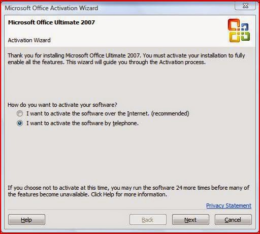 ms office 2007 activation crack free download