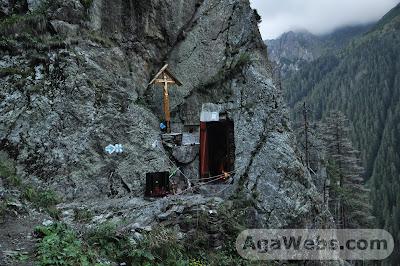 Chilia parintelui Arsenie Boca din muntii Fagaras
