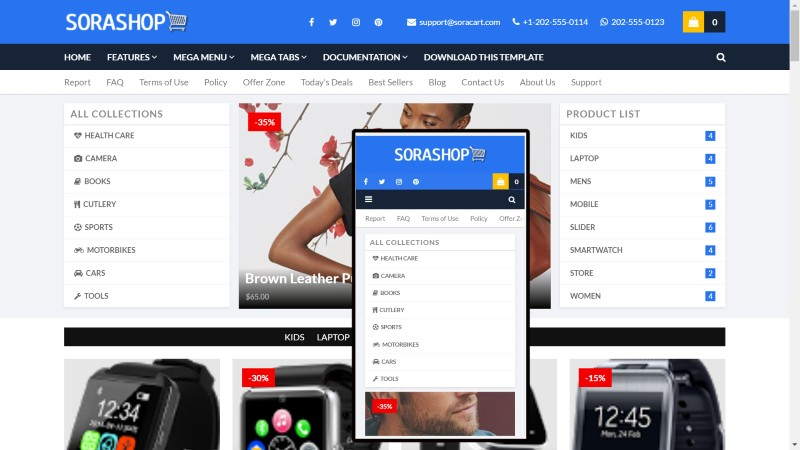 SEO aptimized and Ads ready blogger template