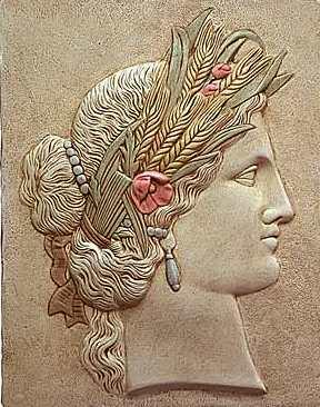 Greek Goddess Ceres Image