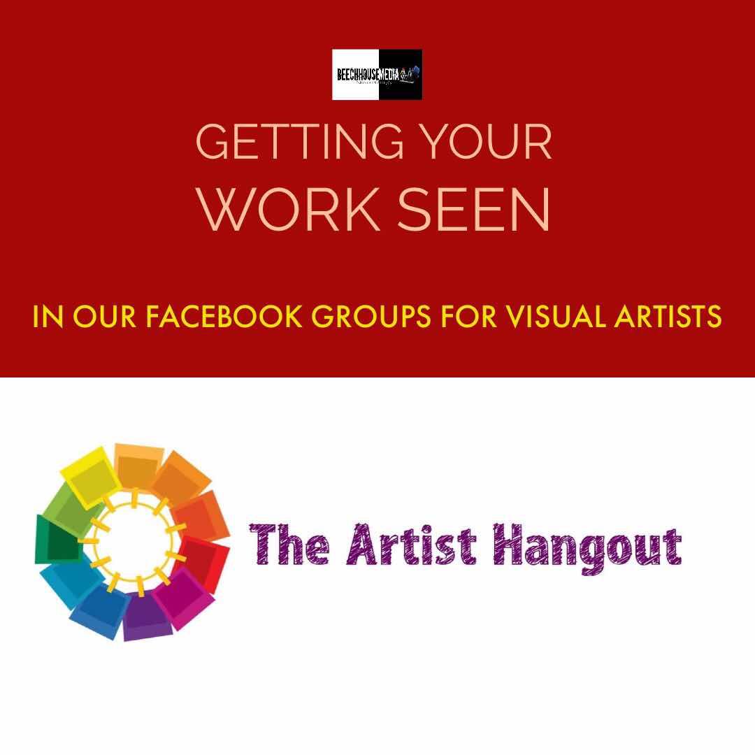the artist Hangout Facebook group