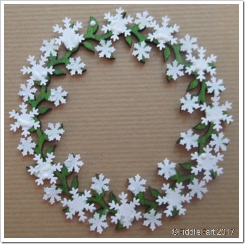 snowflake wreath 2