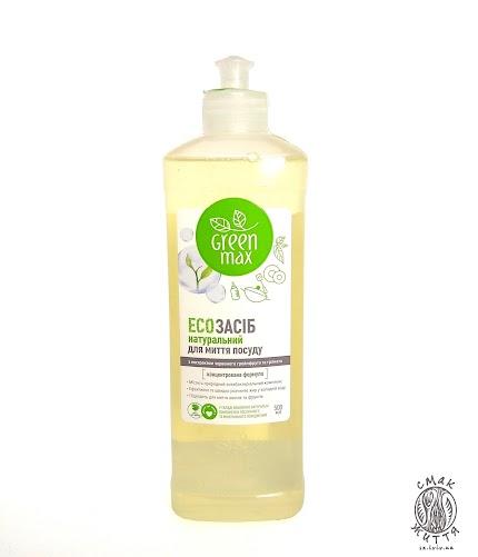 ЕСОзасіб натуральний для миття посуду Green Max(500мл)