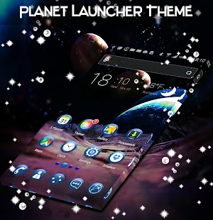 Planet Launcher Theme - náhled